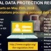 General Data Protection Regulation (GDPR) : deadline is approaching