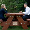 President Obama and Secretary Clinton: two statesmen in a good team.