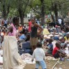Haiti: now humanitarian needs are shelter and combat typhoid, cholera and malaria.