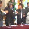 Bolivian President Evo Morales signed Anti-Corruption Law.