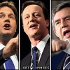 British Elections: Tories/David Cameron with a weak victory, no majority but will seek to form government.