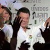 Colombian Elections:Santos win first round with 46% , and has a lock on the runoff.
