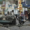 First Car Bomb and Party Massacre shows start of narco terrorism in Mexico.