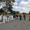 Peacefull action: Dissidents protested in Cuba´s prisons claiming for the release of political prisoners.