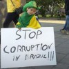 Brazil pursuing cases against corruption rings.