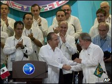 Cancun Summit, Mexico is back again in latinamerican geopolitics.