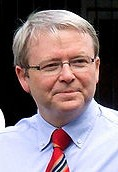 Prime Minister of Australia Kevin Rudd supports improving trade relations with Latin America