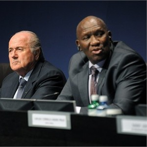 FIFA President Joseph Blatter and South African representative