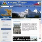 Government Site of Haiti – click here