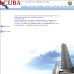Government of Cuba Site – click here