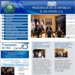 Government of El Salvador Site – click here