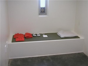 High Security Detention Cell in Guantanamo