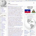 Main Information of Haiti in Wikipedia - click here