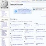 Information Categories of Nicaragua in Wikipedia - click here