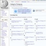 Information Categories of Paraguay Wikipedia - click here