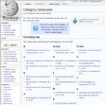 Information Categories of Venezuela Wikipedia - click here