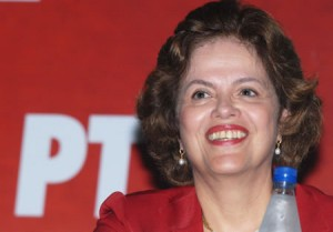 Lula's Chief of Staff and Presidential Candidate Dilma Rousseff, photo courtesy of Arquivo PAN
