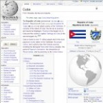 Main Cuba information in Wikipedia - click here