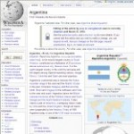 Main Information of Argentina in Wikipedia - click here