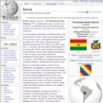 Main Information of Bolivia in Wikipedia - click here