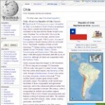 Main Information of Chile in Wikipedia - click here