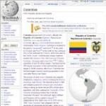 Main Information of Colombia in Wikipedia - click here
