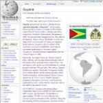 Main Information of Guyana in Wikipedia - click here