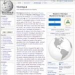 Main Information of Nicaragua in Wikipedia - click here