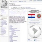 Main Information of Paraguay in Wikipedia - click here