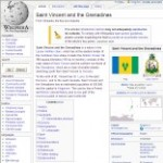 Main Information of Saint Vincent and the Granadines in Wikipedia - click here