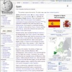 Main Information of Spain in Wikipedia - click here