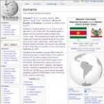 Main Information of Suriname in Wikipedia - click here