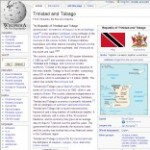 Main Information of Trinidad and Tobago in Wikipedia - click here
