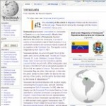 Main Information of Venezuela in Wikipedia - click here