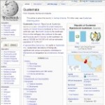 Main information of Guatemala in Wikipedia - click here