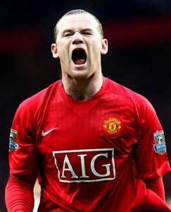 Wayne Rooney, the goal getter of Manchester United