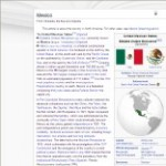 Main Mexico information in Wikipedia - click here