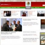 Presidency of Mexico Site – click here