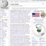 Main United States information in Wikipedia - click here