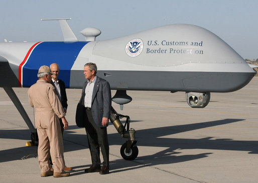 US Border Patrol Deploying Sixth Predator Drone
