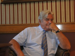 Former President of Uruguay Luis Lacalle Herrera Photo Global Security Services/Antonio Scuro
