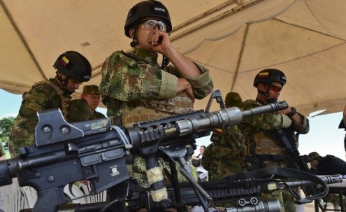 The Americas Post - These Colombian troops could be the model for new elite Mexican units