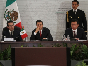 Security News The Americas Post.- President Peña Nieto presented his new security strategy in December to the National Council of Public Security. Photo Credit : Héctor Téllez, Milenio