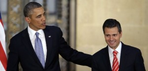 America Security News.- President Barack Obama and Mexico's President Enrique Pena Nieto, right, leave a joint news conference in Mexico City, Mexico, Thursday, May 2, 2013. Credit to AP Photo
