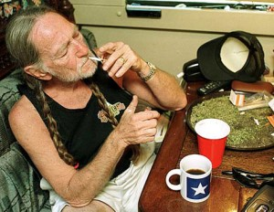 "Willie Nelson said about marijuana ""Don't tell me about health when you're talking about legalizing marijuana because it's not dangerous health-wise. I'm the canary in the mine, and I'm still healthy."" (Source: The Guardian)"