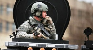 America Security News.- Militarized SWAT-TEAM In Watertown, MA.