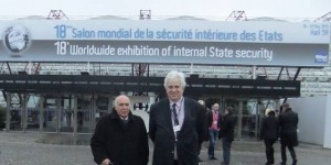 Director of GSS in France, Mr. Alejandro Ronard Alem (left) and Director Owner of Global Security Services LLC (Delaware, U.S.) Mr. Victor Bjorgan. Photo Credit John Upstroke